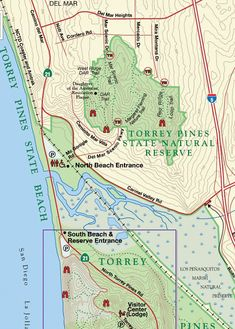 Torry Pines State Beach is one of the most serene places. Great hiking trails that lead down to secluded beach. Vacation Destinations, Vacation Trips, Vacation Spots, Honeymoon Trip, Vacations, San Diego Hiking, San Diego Travel, Torrey Pines State Reserve, Couples Things To Do