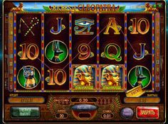 Play online machine Riches of Cleopatra for money. It Egyptian queen Cleopatra and her wealth is devoted to the theme of this slot. Players are waiting not only nice graphics, but also good payment. Cleopatra Gifts Online unit is available free of charge. But much more interesting and profitable to play it for real money, which makes most of the