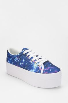 Jeffrey Campbell. ZOMG Cosmic Platform-Sneaker  #UrbanOutfitters.  I want these, TOO!