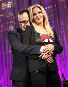 Jenny McCarthy and Donnie Wahlberg of NKOTB are reportedly dating Jenny Mccarthy, Donnie Wahlberg, Donnie And Jenny, Hooray For Hollywood, Blue Bloods, Upcoming Movies, Best Couple, Beautiful Couple, New Kids