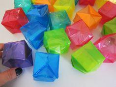 Origami: como fazer caixinhas coloridas