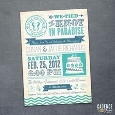 After Wedding Party Invitation