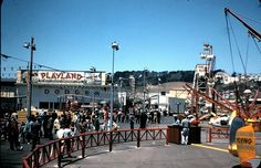 Playland at the Beach San Francisco | Rides 50's
