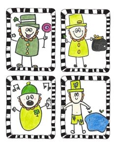 I like the Leprechaun for a directed art.  On my wish list :)