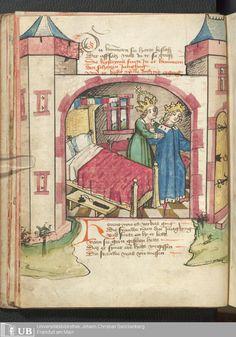 28 [12v] - Ms. germ. qu. 12 - Die sieben weisen Meister - Page - Mittelalterliche Handschriften - Digitale Sammlungen