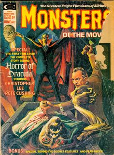Monsters of the Movies comic