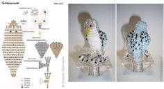 схема совы Many Owl bead patterns