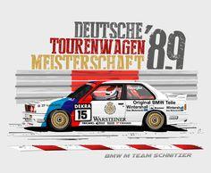 BMW E30 M3 DTM 1989 www.AutoMotywy.Cupsell.pl #AutoMotywy #BMW #E30 #M3 #DTM