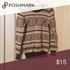 Winter pattern loft sweater size small Winter pattern loft sweater size small LOFT Sweaters Crew & Scoop Necks