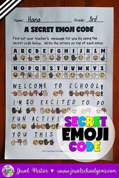Decoding Secret Code 7 (elem) Fun secret code activity