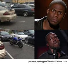 Looking for a parking spot…i laugh every single time lol-funny because it's true Haha Funny, Funny Cute, Funny Memes, Jokes, Funny Stuff, Funny Things, Random Things, Funny Shit, That's Hilarious