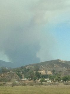 California wildfire May 2013