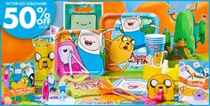 Adventure Time Party Supplies - Adventure Time Birthday - Party City