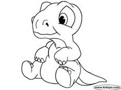 cute baby dinosaurs coloring pages - Bing Images