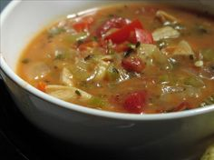 Weight watchers ~ 0 point tortilla soup