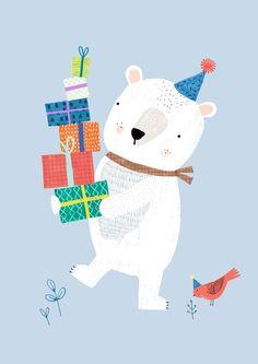 Rebecca Jonesin upea kuvitus! Kortti on painettu laadukkaalle 400 g mattapaperille. Koko 10,5 × 14,8 cm.