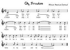 Beth's Music Notes: Oh Freedom