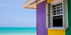 Colorful Beach Houses Around The World - Bright Beach Houses In The Bahamas