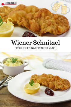 Wiener Schnitzel, Eastern European Recipes, German, Foods, Meat, Chef Recipes, National Day Holiday, Cooking School, Deutsch