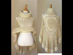 Resultado de imagen para sobretodo tejido a crochet