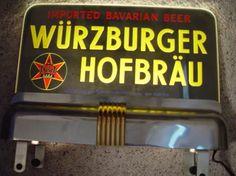 Wurzburger Hofbrau Beer Sign