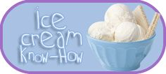 Ice Cream, Sorbet recipes » How to - with Ice Cream Maker. LD