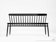 Garden bench / contemporary / oak / walnut TW17  Karpenter