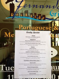 Sunday Specials at Fernando's Dockside Grille Fry Baby, Sunday Special, Grilled Salmon, Mediterranean Recipes, Entrees, Appetizers, Restaurant, Stuffed Peppers, Twist Restaurant