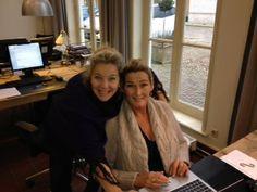 Marjolein van Trigt en Marije Koets! Samen de nieuwe proposities van  Freelancers United aan het uitwerken!