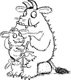Free printable The Gruffalo coloring pages for kids of all