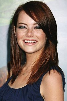 Emma Stone - If I go red, it's going to be Emma Stone red.