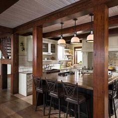 29 best timber frame kitchens images timber frame homes wooden rh pinterest com pictures of timber frame kitchens pictures of timber frame kitchens