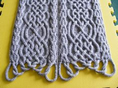 Ravelry: Puzzle Scarf III/20 - full pattern by Devorgilla's Knitting (sometimes...)