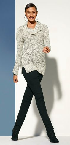 The Textured Cowl Neck #Resort #travel #chicos #gifts