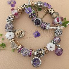 Some purple beautyness #pandora #pandoraaddict #pandoraaddict #pandoralove #pandoralover #pandoramania #pandorainspired #pandoraspring #pandoracharm #pandoracharms #pandorajewelry #pandorabangle #jewelry #jewelrylover #silver #gold #charms #locket#pandoralocket #flower #spring #spring2017 #familytree #purplelove #purple