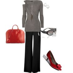 Work Wear, created by grumbje on Polyvore