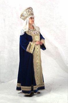 Русский национальный костюм - Великокняжеский костюм