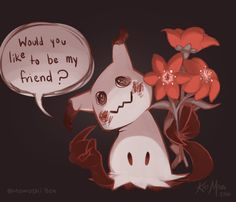 MomoshiBox Everyone's playing Pokemon Go but I'm over here loosing my mind over Mimikkyu! The adorable spooky pokemon that disguises itself as pikachu so it can make friends! Too cute!