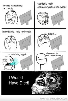 Le Me Watch Movie.  Lol I do this all the time.  And ten after.  I tell myself. I am. a dork