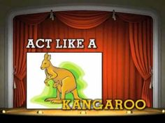 ACT IT OUT!!!!!!! (song for kids by Mark D. Pencil), via YouTube.