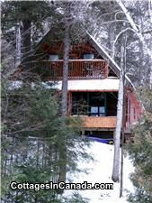 DI-10477: A comfortable 1200 sq ft , all seasons, cottage. 3 bedrooms in main living area + an extra bedroom in the basement. Screened in Muskoka Room and balcony off  ...