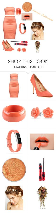 """""""Summer Bridesmaid🌷🌷"""" by kristynrgates ❤ liked on Polyvore featuring Pour La Victoire, Dsquared2, Bling Jewelry, Fitbit, Elizabeth Arden, WithChic and Frontgate"""