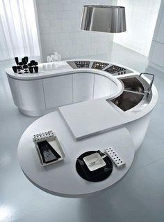 Curved Kitchen Design 2012