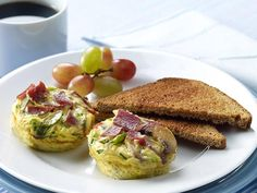 Veggie Frittata With Turkey Bacon | The Biggest Loser
