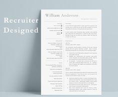Executive Resume Template, Modern Resume Template, Cv Template, Resume Templates, Cover Letter Template, Resume Tips, Resume Cv, Resume Writing, Writing Tips