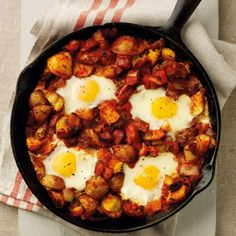 Spanish eggs: Recipes: Food - Red Online