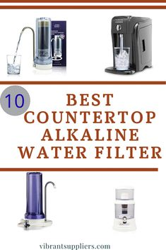 Tired of buying alkaline water from stores then invest in the best countertop alkaline water filter and make alkaline water at home. it has a powerful filter that remineralizes your water Under Counter Water Filter, Sink Water Filter, Countertop Water Filter, Best Water Filter, Water Filter Pitcher, Water Filters, What Is Alkaline Water, Alkaline Water Benefits, Alkaline Water Filter