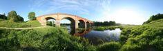Latvia - Kuldiga old brick bridge
