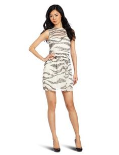 Kensie Women's Zebra Cheetah Dress for only $18.69 You save: $99.31 (84%) + Free Shipping