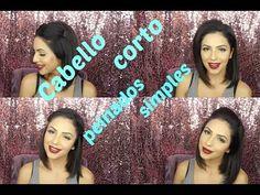 Cabello Corto peinados sencillos y faciles - YouTube